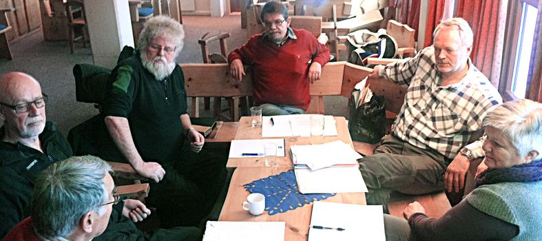 De fire velforeningene, Ljøsheim, Rømåsen, Sjusjøen og EAK velforening sitt første arbeidsmøte