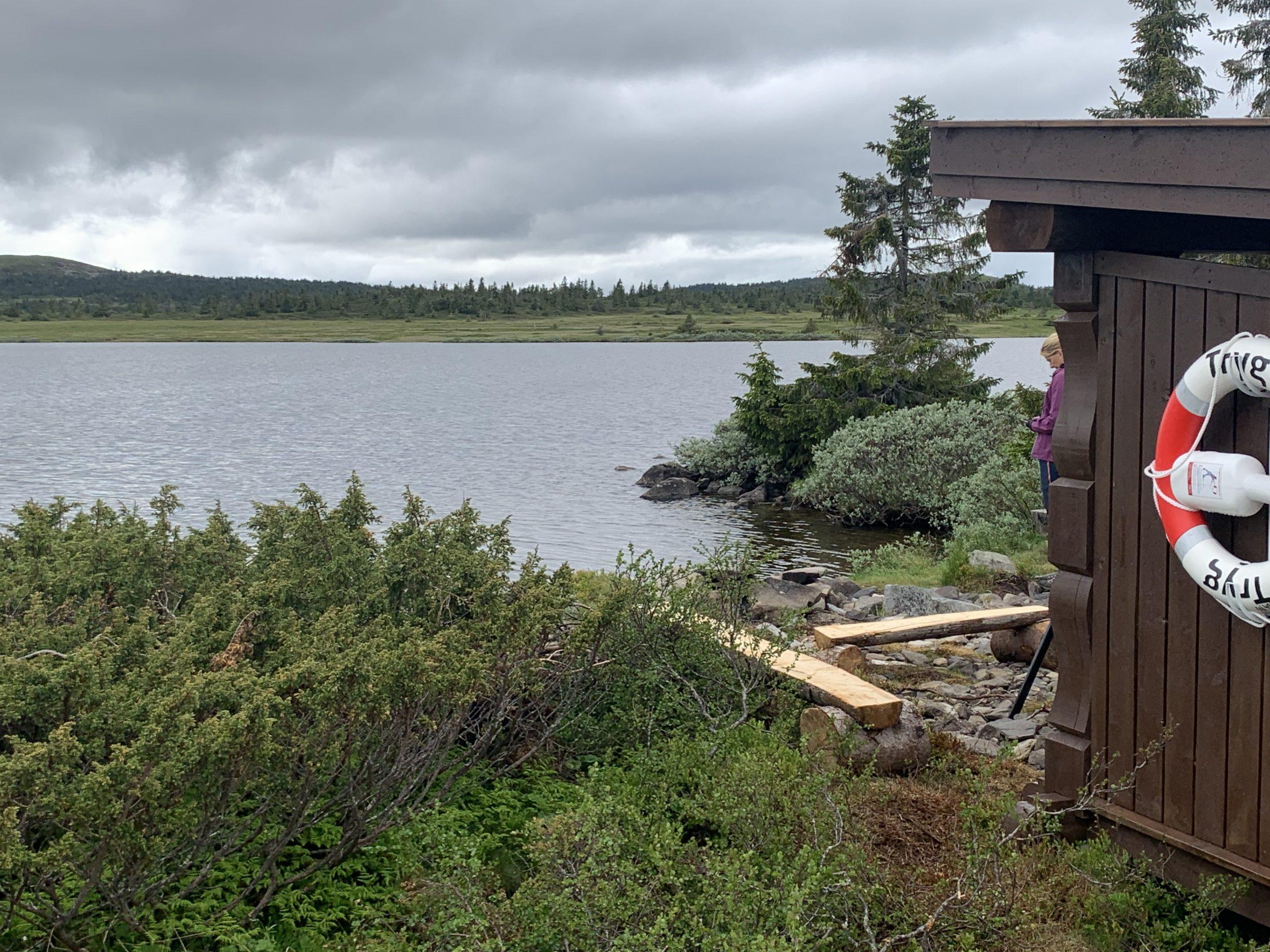 Gapahuken ved Kroksjøen